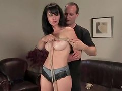 Keeping Scarlett Stone naked and bondaged is so much fun