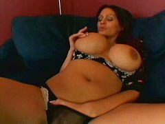 Check out the big tits bouncing during the close up sex action for this video
