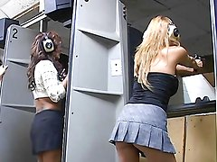 Horny mommies have a lesbian threesome