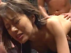 Sweetie is swallowing sperm in a hot cumpilation