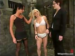 Horny Bobbi Dean gets dominated by Melissa Lauren