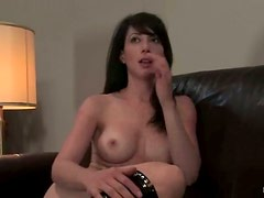 Scarlett Stone gets bound and enjoys her BF's fingers in her vag