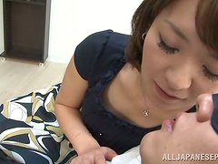 The moment of seduction with a kinky girl from Japan