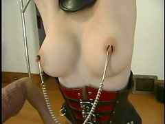 Intense Domination and Torture for Blonde Beauty in BDSM Vid