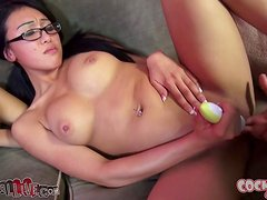 Asian Babes Jayden Lee and Sharon Lee Showing Off Their Skills
