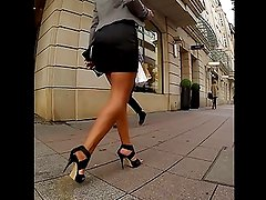 Very Hot Girl in High Heels