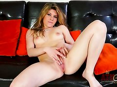 Asian Callie Lavalley with small breasts and