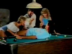 Classic porn actress ride cock and massages it with tits