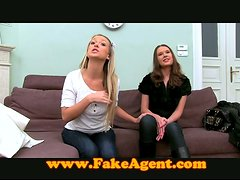 Fake Casting Agent Plays Tricks in Hot FFM Threeway!