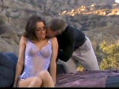 Sexy Brunette Vanessa Lane Gets Fucked By Horny Stud Outdoors