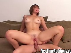 Hot bitch Katerina fucks herself and gets fucked.