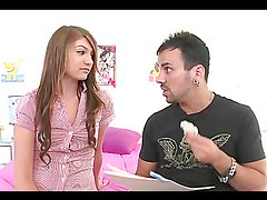 Cassandra Nix is fucked silly by a large cock