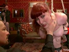 Three sluts get tortured indoors in a kinky BDSM clip