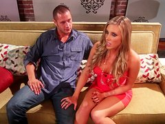Curvy Samantha Saint Making Love With Her Gifted Boyfriend