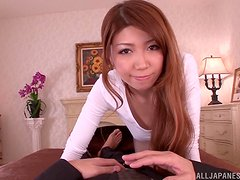 Hot sex witht he horny Asian babe Yuuka Minase