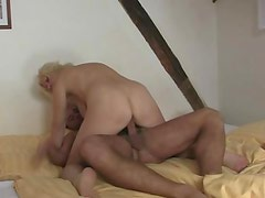 Blonde mother in law seduces me in porno
