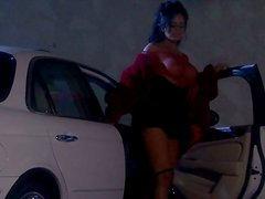 Fantastic Brunette Hooker With Big Tits Gets Nailed Hard In The Garage
