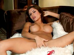Danni Gee with massive melons and