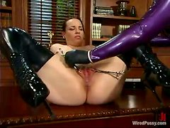 Large Dominatrix Gets An Innocent Victim For Her Sexual Fetishes!