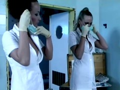 Fucking two stunning nurses is so damn good