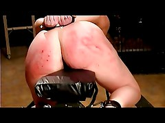 Spanking until ass turn red