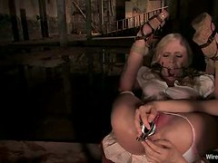 Sarah Jane Ceylon gets her mouth and vag drilled by Tommy Pistol