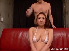 Asian babe with big tits likes cosplay, sex and vibes.
