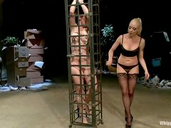 Petite Serena Blair gets punished by nasty Lorelei Lee