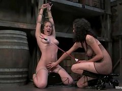 Blindfolded babe Jade Marxxx is given to Princess Donna Dolore