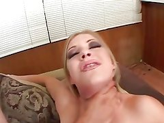 Leah Luv Gets 2 Dicks Up Her Ass - Enjoy CardinalRoss