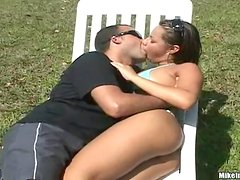 Brazilian Babe Drilled By Hard Cock In The Sun
