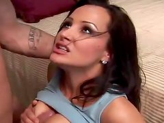 Steaming hot brunette milf will seduce that dude