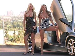 Juicy Alison Angel And Her Hot GF Pose Erotically In A Reality Video