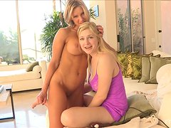 Pretty Anne And Her Hot Friend Have A Lesbian Moment Together