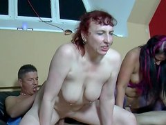 Claudia W and Daniela Ad are having sex