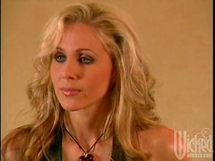 Big breasted Julia Ann sits on guy's face and rides his dick