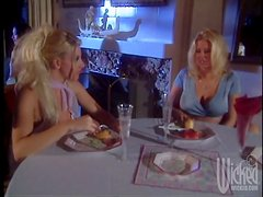 Hot blonde Lesbians Hooking Up in the Toilet