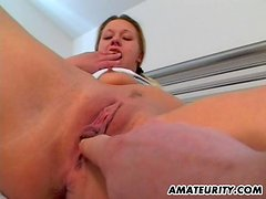 Amateur Couple Having a Hardcore Hookup in Bed