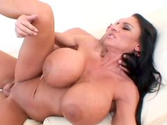 Big boobed whore Lisa Lipps wildly fucks her boyfriend