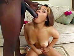 So cute as she takes BBC