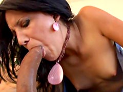 Billi Anne banged on all fours and fed jizz
