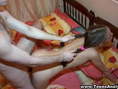 Splendid Ilona Gets Fucked Hard Doggystyle By Ivan