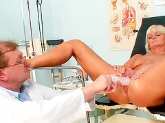 Things get naughty during gyno exam