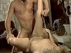 Horny and filthy bitch with short hair gets poked hard