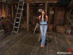 Nipple Torture and Toying for Bobbi Blair Dominated