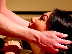 Asian being ravished in pure hardcore