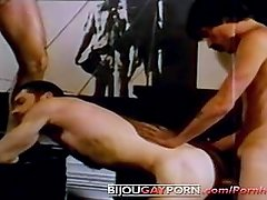 Vintage Construction Worker Orgy - MAGNUM GRIFFIN 9