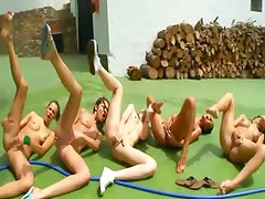Five naked babysitters whole diesel team
