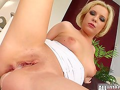 All Internal Blonde's holes penetrated