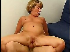 Mature French chick taken in her anus